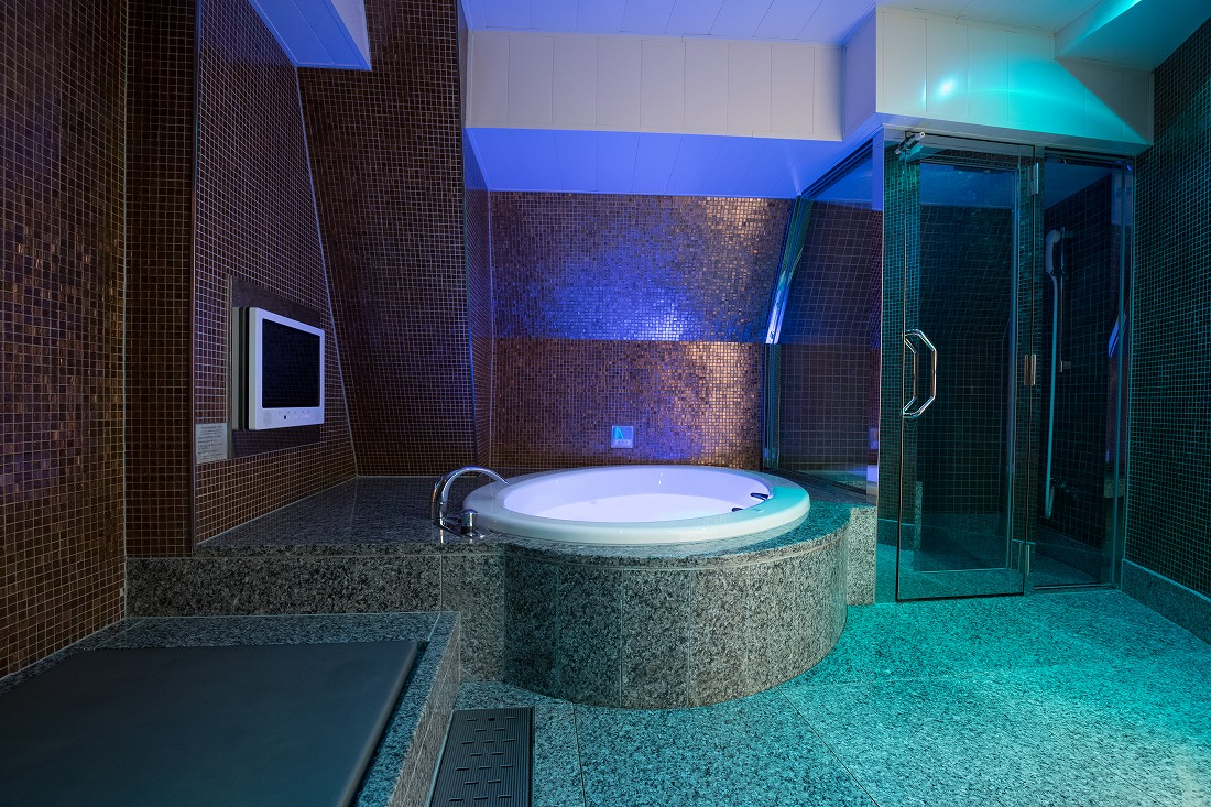 ホテルパシャの浴室