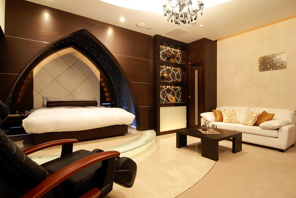 最上階には豪華VIPルーム